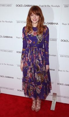 Emma Stone 'Magic In The Moonlight' New York Premiere