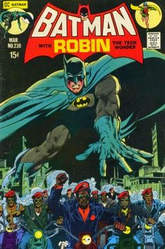 """A Tumblr post yesterdaysuggested that a """"person of color"""" didn't appear on a Batman cover until 1970. I checked pre-1970 BATMAN, DETECTIVE and WORLD'S FINEST covers, to see.If you take """"person of color"""" to mean a non-Caucasian, the claim wasn't remotely true. There were Asians, Egyptians, South Americans, American Indians, Latinos, etc. Often stereotypical, but there. But if you take """"person of color"""" to mean """"black,"""" it was quite true, as far as I could tell.So it ..."""