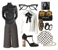 """Annalise"" by missactive-xtraordinary ❤ liked on Polyvore featuring moda, Dolce&Gabbana, Orla Kiely, Alexander McQueen, Chanel y BaByliss Pro"