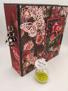 Album Photo Scrapbooking, Rose, Crochet, Decorative Boxes, The Originals, Creative, Handmade, Gifts, Color