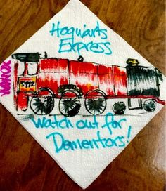 Sciencey Autism: Napkin Notes--Hogwarts Express 3/19