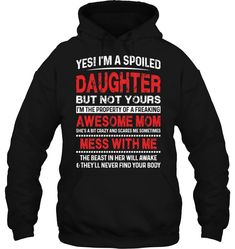 Yes Im A Spoiled - Sarcastic Shirts - Ideas of Sarcastic Shirts - Yes Im A Spoiled Daughter But Not Yours Funny T Shirts Hilarious Sarcastic Shirts Funny Tee Shirt Humour Funny Outfits t-shirts gym t-shirts awesome t-shirts DIY t-shirts funny Sarcastic Shirts, Funny Shirt Sayings, Funny Tee Shirts, Funny Sweatshirts, Shirts With Sayings, Cool T Shirts, Funny Shirts For Men, Funny Sweaters, T-shirt Humour