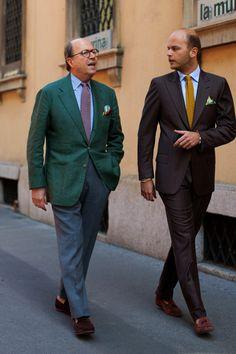 Belgian Loafer Outfit Men | Rubinacci: The art of Neapolitan tailoring The... | SARTORIALE