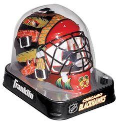 Chicago Blackhawks Mini Goalie Mask - Red by Franklin. Chicago Blackhawks Mini Goalie Mask - Red.