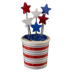 Houston astros medium basket a 6 items houston astros at designs stars and stripes star appetizer picks with holder negle Gallery