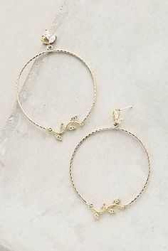Your delicate ears deserve these delicate hoops | Wild Vine Hoops