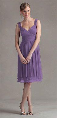 Lavender Dress. Bridesmaids.