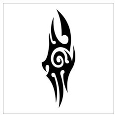 Easy Simple Tribal Tattoo Designs