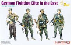 1/35 German Fighting Elite in the East (dml6692) DML Plastic Model Military Figures