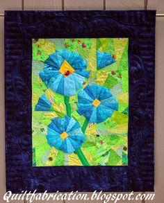 Quilt Fabrication: Scraplicious Florabunda