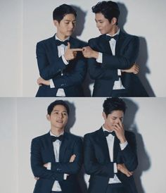 Song Joong-ki and Park Bo-geom, So Adorable Together!