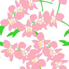 Orchid - Fabric by the Yard - Pink