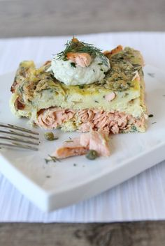 Salmon Breakfast Frittata - the Whole Smiths