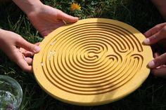 For Peace Shelf. Water Drop Labyrinth - www.grimms.eu