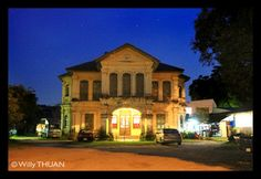 One of the few Sino Portuguese Mansions still standing in their original condition in the old Phuket Town : http://www.phuket101.net/2011/05/14-amazing-sino-portuguese-mansions-in.html