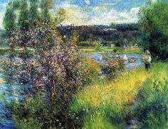 Renoir: The Seine at Chatou