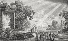Phillip Medhurst presents Bowyer Bible print 3765 Jesus presents a child as an exemplar Matthew 18:1-6 Perelle on Flickr. A print from the Bowyer Bible, a grangerised copy of Macklin's Bible in Bolton Museum and Archives, England.