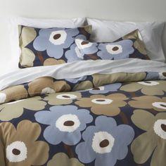 Marimekko Unikko Dusk Bed Linens