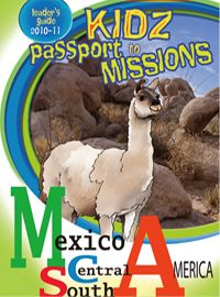 Russell Barr -Nazarene children's mission curriculum design and activity pages