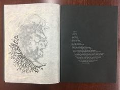 """pugetsoundarchives: """" The Book of Penumbra, by Gabrielle Cooksey Only one more week until Halloween, and things are getting spooky in the A&SC! The Book of Penumbra, one of our artists' books, has..."""