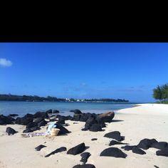 Private beach ;) Mauritius, Beach, Water, Outdoor, Gripe Water, Outdoors, The Beach, Beaches, Outdoor Games