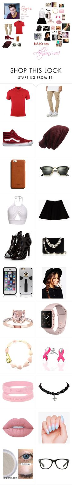 """""""me hanging out with my boyfriend Grayson Dolan"""" by ravenclaw-13 on Polyvore featuring Dolan, Polo Ralph Lauren, Rusty, Vans, Forever 21, Shinola, Ray-Ban, Max&Co., Miu Miu and ASOS"""