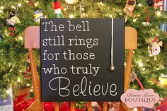 The bell still rings for those who truly believe, Polar Express Quote