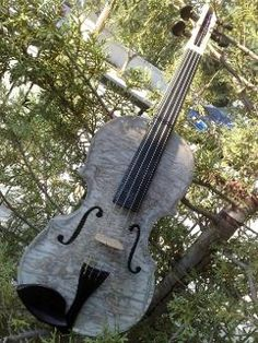 Violin made from used paper!