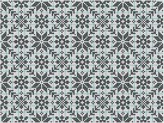 2015-02-11 Žakardinės schemos – Dalia Ivanova – Picasa tīmekļa albumi Fair Isle Knitting Patterns, Fair Isle Pattern, Knitting Charts, Knitting Stitches, Knitting Designs, Crochet Cross, Crochet Chart, Filet Crochet, Cross Stitch Charts