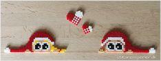 To måneder til juleaften - har I bestilt julerøde perler? Hama Beads, Perler Bead Art, Hama Mini, Christmas Holidays, Christmas Ornaments, Perler Patterns, Xmas Gifts, Beading Patterns, Pixel Art