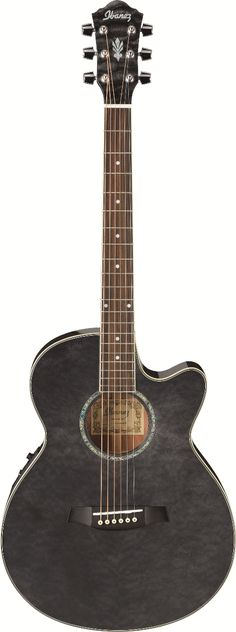 Ibanez AEG25ETBK Acoustic Guitar - See acoustic guitar ratings and reviews at…