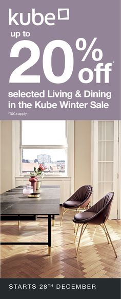 Up to off selected Living and Dining in the Kube Winter Sale. Dining Set, Dining Bench, 20 Off, Winter Sale, Dining Room Furniture, Bar Stools, Ireland, Living Spaces, Celebration