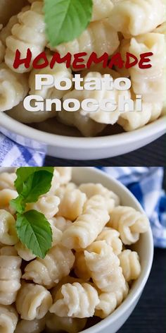 Homemade Potato Gnocchi Recipe - With 3 Gnocchi Shape Ideas. One Shape Is Great When You Are In A Hurry, Another Is Easy, The Last One Elaborate But Beautiful Watch My How To Video To Make Gnocchi At Home Italian Recipes, New Recipes, Vegetarian Recipes, Favorite Recipes, Healthy Recipes, Orange Recipes, Recipies, Potato Gnocchi Recipe, Potato Pasta
