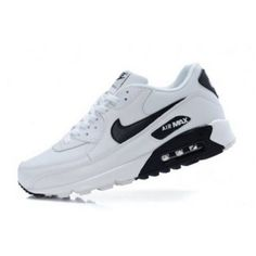 Nike Shoes OFF! Sell and buy Nike Air Max 90 White Black Logo - from category Nike Air Max 90 (Nike Air Max Shoes On Sale) cheap price Nike Air Max Black, Nike Air Max 90s, Cheap Nike Air Max, Nike Air Max For Women, All Black Nike Shoes, Nike Air Jordan 5, Women Nike, Nike Air Vapormax, Nike Air Shoes