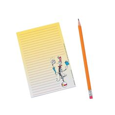 Cat in the Hat Notepad - OrientalTrading.com