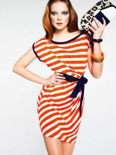 Mango Color & Rayas Lookbook Verano 2011 | Ella es Fashion