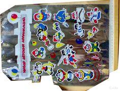 Набор детских аппликаций. Советские игрушки - http://samoe-vazhnoe.blogspot.ru/
