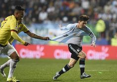 Copa America 2015 : #Messi #Argentina vs #Colombia #Football #soccer #best #Moment See in Pics on 24Faster.com