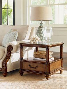 Bimini Square End Table | Lexington | Home Gallery Stores