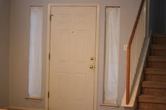 1000 images about window stuff on pinterest front door - Narrow window curtain ideas ...