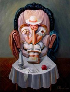 20 Incredible Optical Illusions Oil Paintings By Oleg Shuplyak | HDpixels