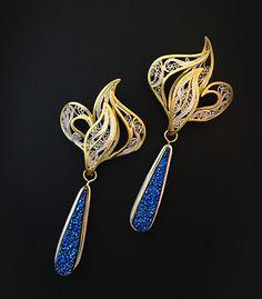 Envisioned, earrings
