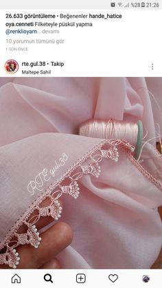 Daisy Fiber Making for Women Who Love Knitting Excessively Filet Crochet, Crochet Lace Edging, Crochet Borders, Crochet Doilies, Crochet Flowers, Crochet Stitches, Crochet Baby, Knit Crochet, Hand Embroidery Designs