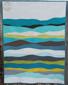 Amazing quilting job on this quilt.  Just a plain amazing quilt. from the blue chair: The Layers quilt
