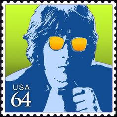 John Lennon Pop Art Stamp (not a real postage stamp) Postage Stamp Design, Postage Stamps, John Lennon, Commemorative Stamps, Old Stamps, Going Postal, Music Images, Mail Art, Stamp Collecting