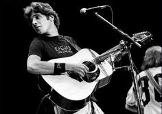 Things We Love About Glenn Frey #1: His Eagles pride. The band was his baby that he helped create, and he had all the t-shirts to prove it.