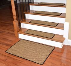 13 Step Indoor/Outdoor Non Slip Stair Treads Step Rug Carpet ...