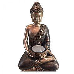 Statua Buddha Thailandese seduto portacandela porta candela Subitodisponibile http://www.amazon.de/dp/B01CGMWLEW/?m=A37R2BYHN7XPNV