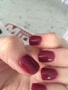 Sns nails 87 perfect for end of summer start fall nail colors Nexgen Nails Colors, Dip Nail Colors, Red Nails, Hair And Nails, Sns Colors, Nail Pink, Nail Colour, Sns Nail Powder, Dipped Nails