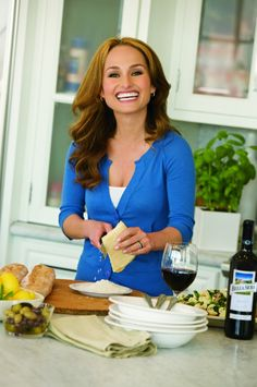 giada de laurentiis | Interview with Celebrity Chef Giada De Laurentiis A Splashtablet iPad Case repin. Yes you can stick your iPad to your cabinets with this  suction-mount case at eye level! Find them on Amazon! http://www.amazon.com/Shower-Bathe-Suction-mount-Waterproof-Case/dp/B00TG1FFLS